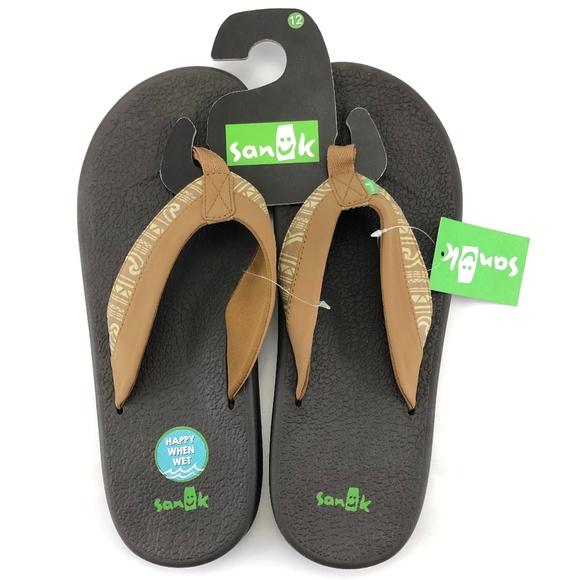 0dc54e15403ca Sanuk Brumeister Funk Men s Sandals Men s Size 12